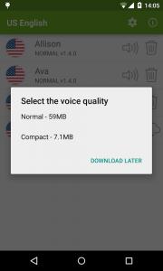 Vocalizer TTS Voice (English) 1