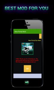 Mod Portal Gun 2 para MCPE 1