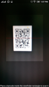 Barcode and QR Code Reader 1
