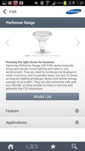 Samsung LED Lamp 1
