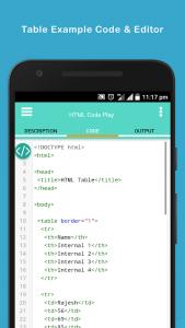 HTML Code Play 1