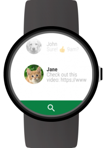 Messages para Wear OS (Android Wear) 1