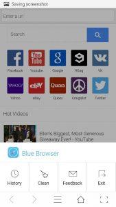 BlueSafari Browser 1