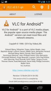 VLC para Android Nightly 1