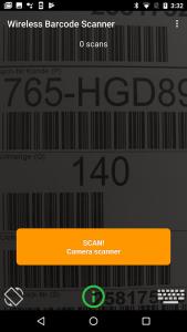 Wireless Barcode Scanner, Demo 1