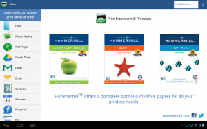 Print Hammermill 1