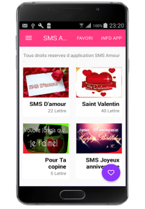 sms d amour 1