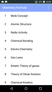 Chemistry paramula 1