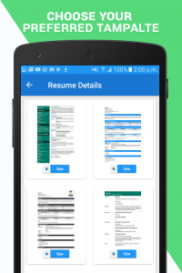 Professional Resume Maker & CV builder 1