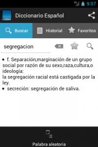 Diccionario de español 1