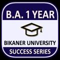 BA 1st Year Bikaner University