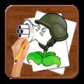 Como dibujar :Plants vs Zombies