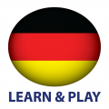 Learn and play. German words