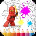 Lego Ninjago Coloring