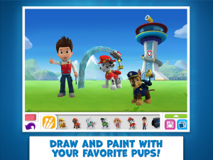 PAW Patrol Draw & Play 1
