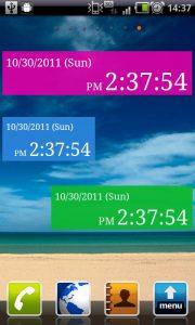 Seconds Clock Widget 1