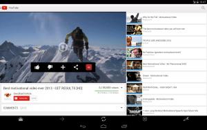 Ratings para YouTube™ 1