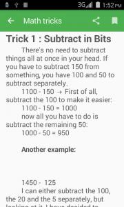 1100 Math Tricks 1