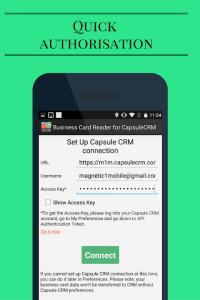 Business Card Reader para Capsule CRM 1