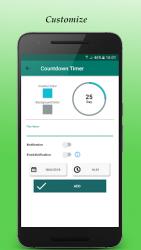 Countdown Days App – Widget 1