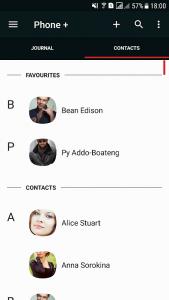 Phone + Contacts y Calls 1
