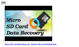 SD Card Repair 1
