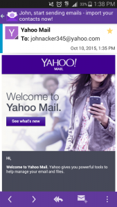 Email Yahoo Mail 1
