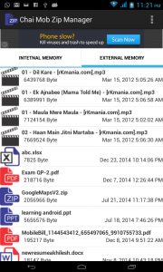 Zip File Manager 1