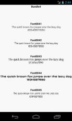 Fonts para FlipFont 4 1
