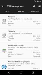 Kiwix, Wikipedia offline 1