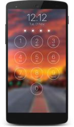 lock screen passcode 1