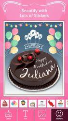 Name on Birthday Cake 1